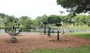 Indian Creek Park fitness course