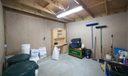 feed room in main barn