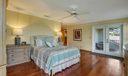 Spacious Master Bedroom view to Balconoy