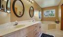 Master Bath with tub & shower