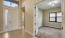 Entry Foyer + Den
