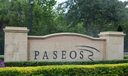 Paseo Community Sign
