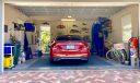 large clean 2 car garage