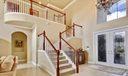 foyer & stairs