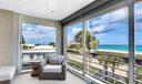 Porch ocean view