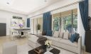 Virtual staging of the great room