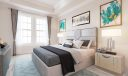 Virtual staging of the guest suite