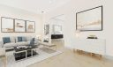 Virtual staging great room bar area