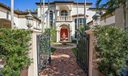 Wrought Iron Gated Entry