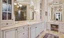 Custom Cabinetry & Marble Vanity Tops