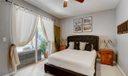 Downstairs Bedroom/Den With Sliders