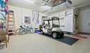 2 car epoxy garage