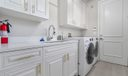 Laundry with new Washer/Dryer