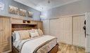 Bedroom in Studio
