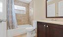 Renovated Jack & Jill Guest Bathroom