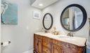 Double Sink Custom Vanity
