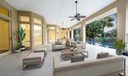 Outdoor Entertainment Area - Staged