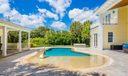 Pool with Sun Shelf and Spa