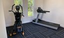 Exercise Room in Walking Distance
