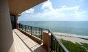 Beachfront North View from Balcony