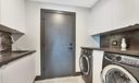 Fully equipped laundry area