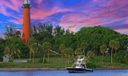 Jupiter Lighthouse with Boat 2018 AAP (0