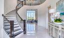 Foyer & Circular Staircase