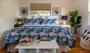 Poolhouse Guest Bed