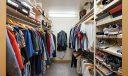 Spacious Dual Closets