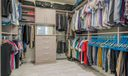Walk-In Closet with Built-Ins
