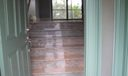 Entryway with Marble Flooring
