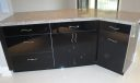 Black Lacquer Cabinetry
