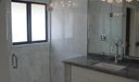 Carrara Marble in Shower