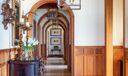 Arched Hallway