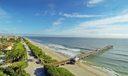 Juno Beach Pier Aerial