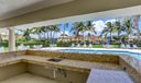 Community Pool Covered Patio