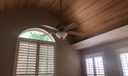 ceiling in family room