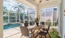 Covered Patio / Pool & Spa