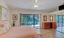 Master Bedroom w/ Patio/Garden Views