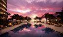 2700-Pool sunrise
