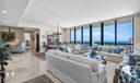 Expansive Living Room w Ocean Views