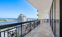Expansive Balcony Direct Water Views
