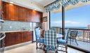 Kitchen w/ Nook Seating & Views