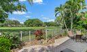 Patio & Golf Course View