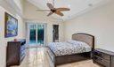 Master bedroom & pool access