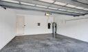 Garage w/epoxy floor