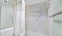 Shower/ toilet area