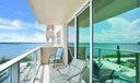 Balcony view Westward