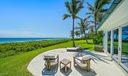 Beach guest house terrace