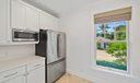 Beach guest house kitchenette